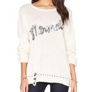 Wildfox Mermaid Bloomy Sequin Sweater